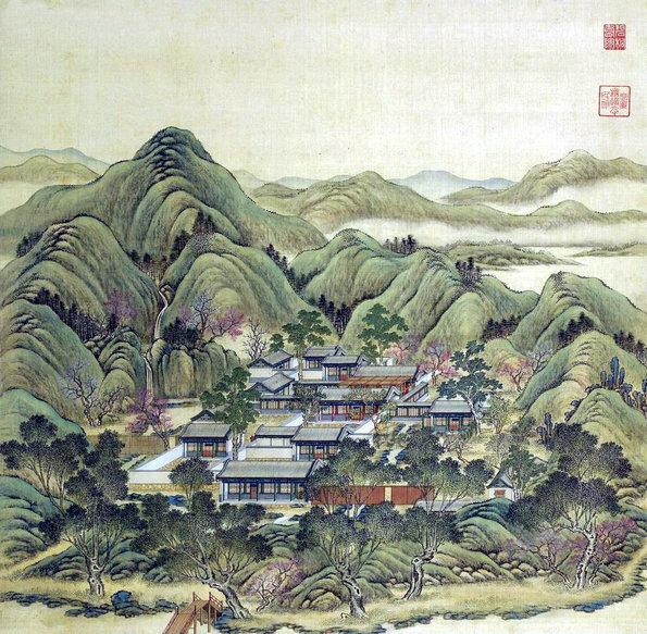 北京谐趣园平面图