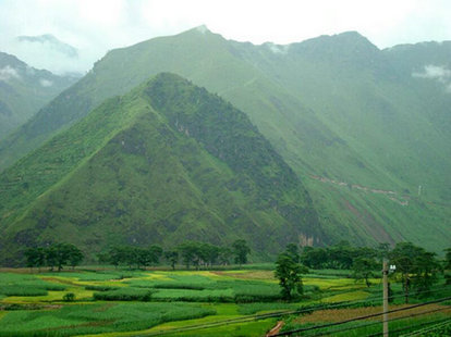 子耳彝族乡风景